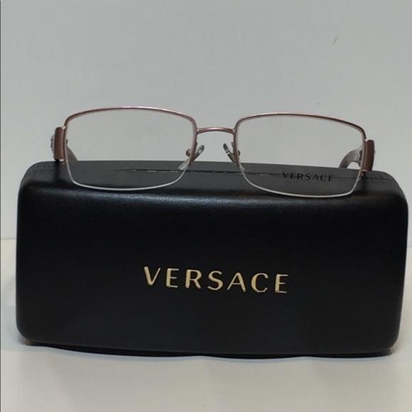 ba165ab7ef83 Versace Accessories | New 1175b 1260 Satin Rise Semi Rimless | Poshmark